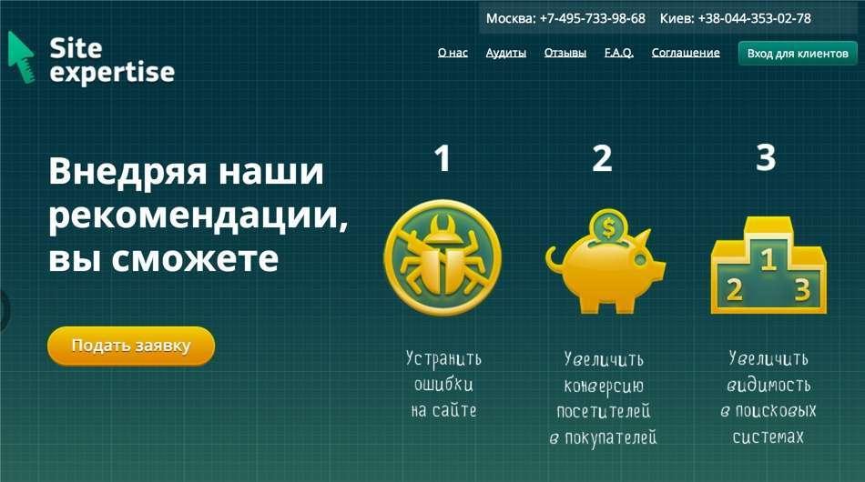 Аудит сайту сторонніми компаніями